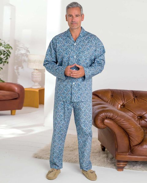 Paisley Cotton Print Pyjamas