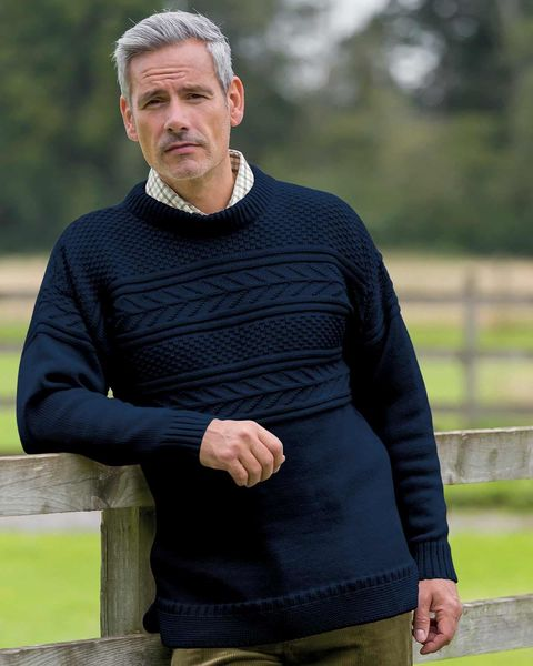 Guernsey Sweater  Mens
