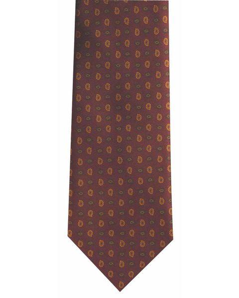 Silk Burgundy Tie