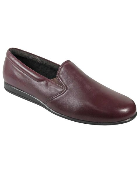 Draper Leather House Shoes