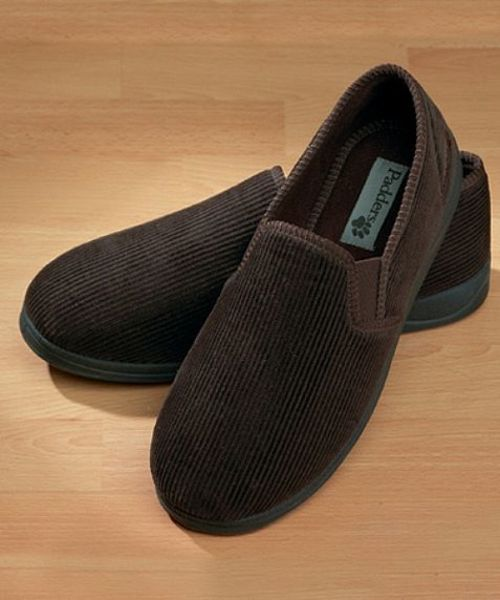 Corduroy Slipper
