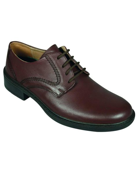 DB Wider Fit Brown Lace up shoe