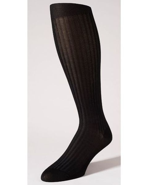 Pantherella Stretch Cotton Knee Socks