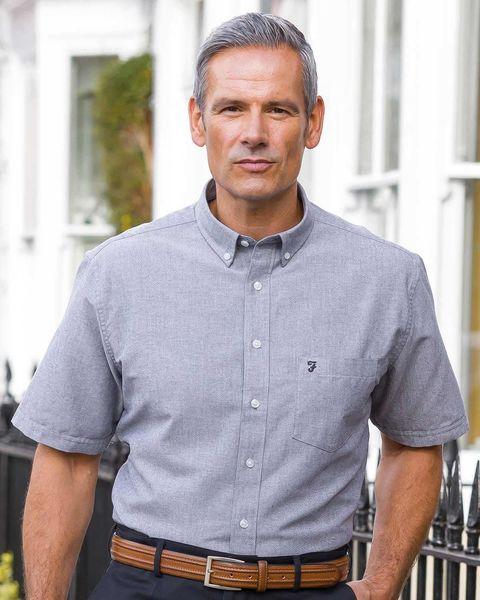 Farah Drayton Short Sleeved Oxford Shirts