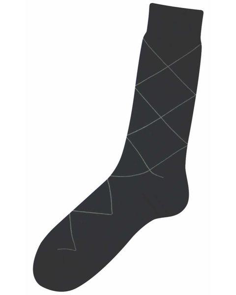 Fine knit Argyll Socks