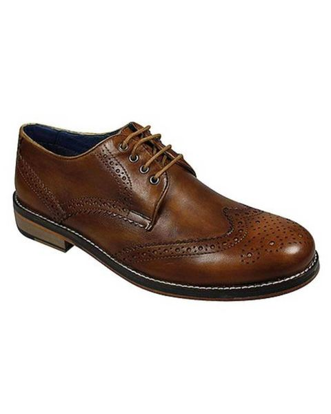 Leather Brogue Shoe