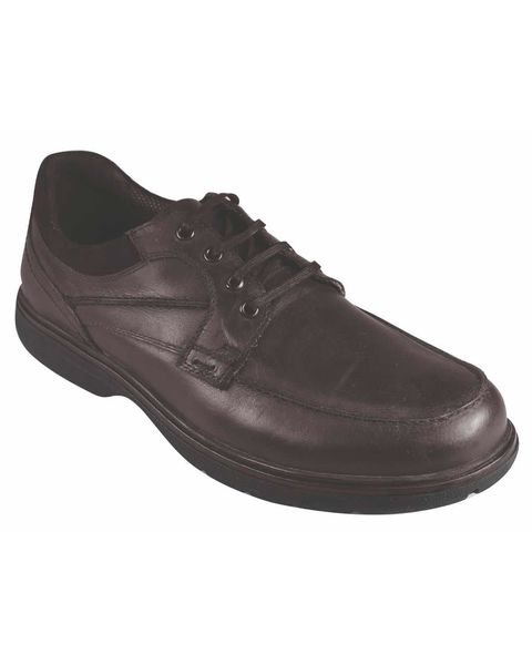 Padders Brown Lace Up Shoe