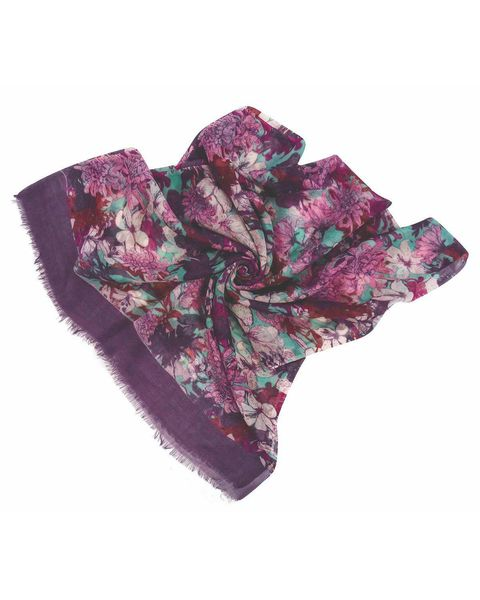 Heather Wool Scarf