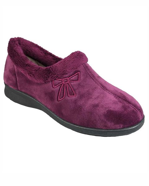 Fur Trim Slipper