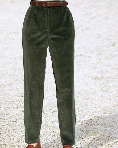 Corduroy Trousers  Ladies
