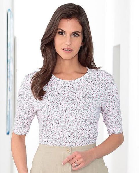 Abigail Silky Cotton Leisure Top