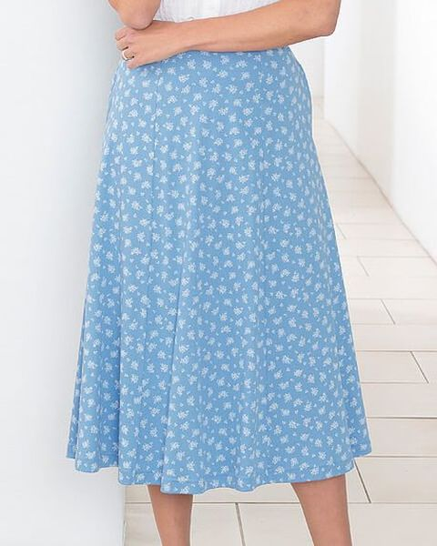 Lucille Multi Coloured Pure Cotton Skirt