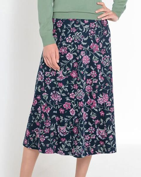 Lorna Multi Coloured Pure Cotton Skirt