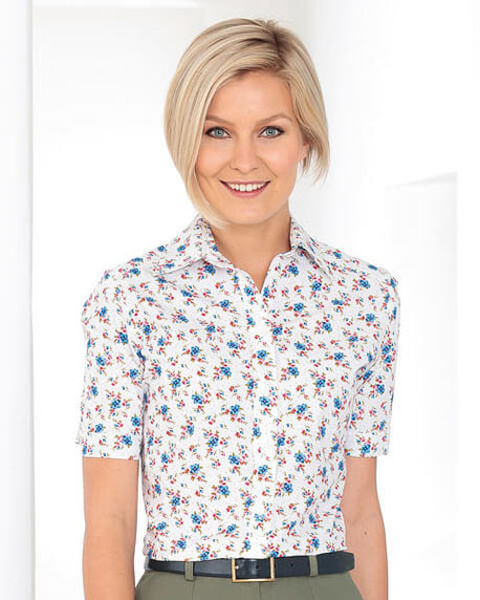 Melinda Floral Pure Cotton Blouse