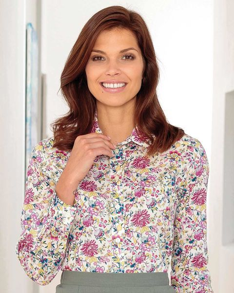 Carrie Floral Liberty Print Tana Lawn Blouse