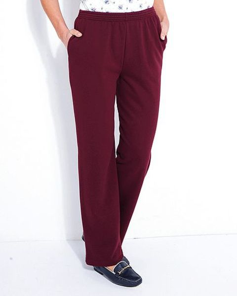 Claret Leisure Trousers