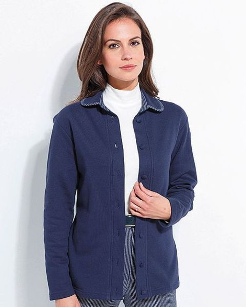 Leisure Cardigan Henley