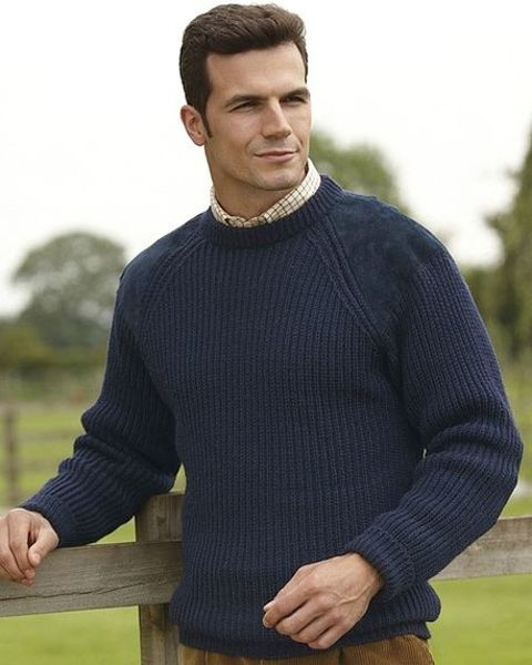 Fishermans Rib Sweater - Mens