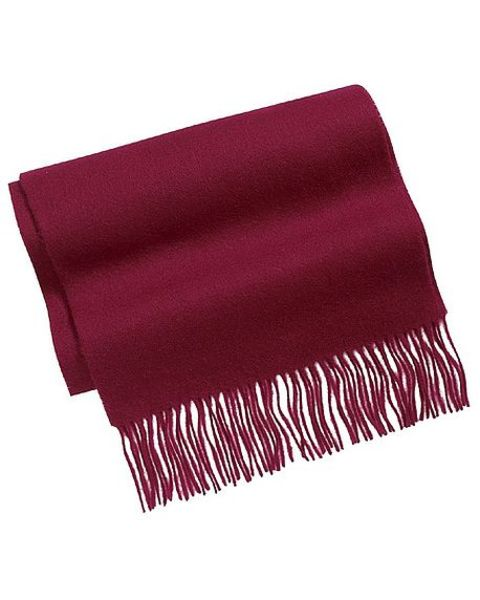 Burgundy Pure Lambswool Scarve