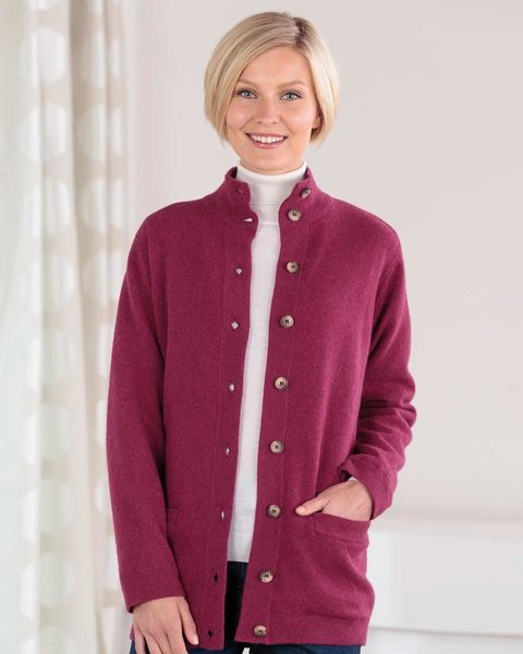 Georgina Pure Lambswool Jacket