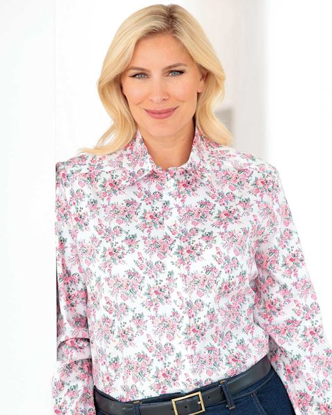 Sherrie Floral Pure Cotton Blouse