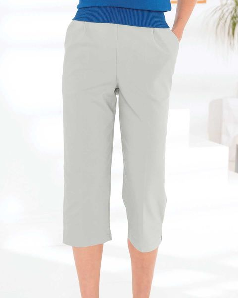 Easycare Cropped Pull On Trousers