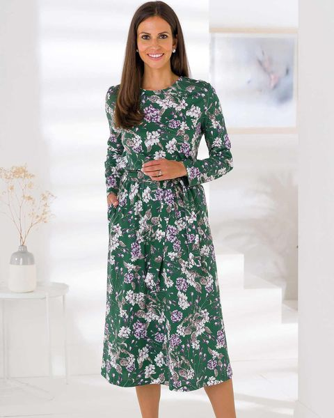 Caitlyn Pure Silky Cotton Dress