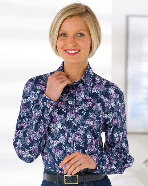 Bethany Pure Silky Cotton Blouse
