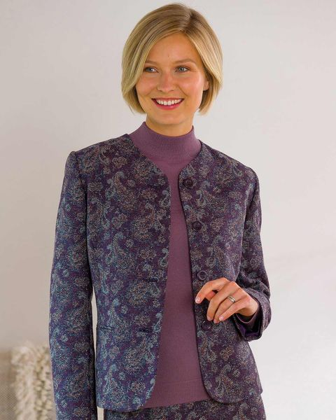 Amelia Wool Mix Jacket