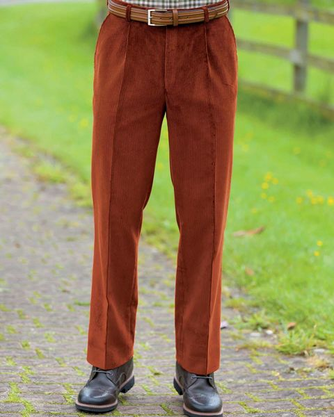Corduroy Trousers - Mens